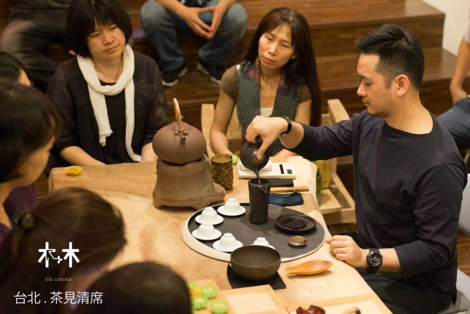 木+木 IDG Concept在2014 台北四月天 . 茶見清席
