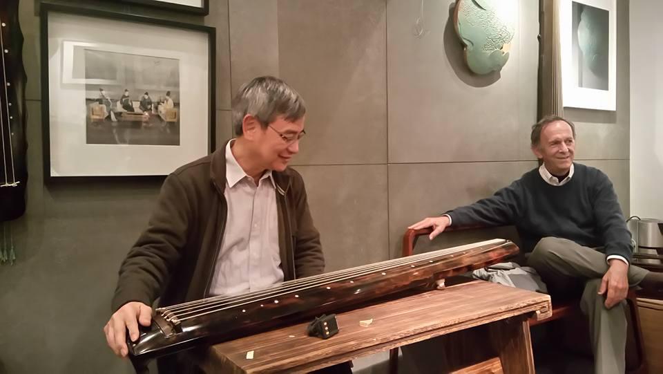 黃樹志 老師 為我們一衆琴友 分享 絲弦的 發展