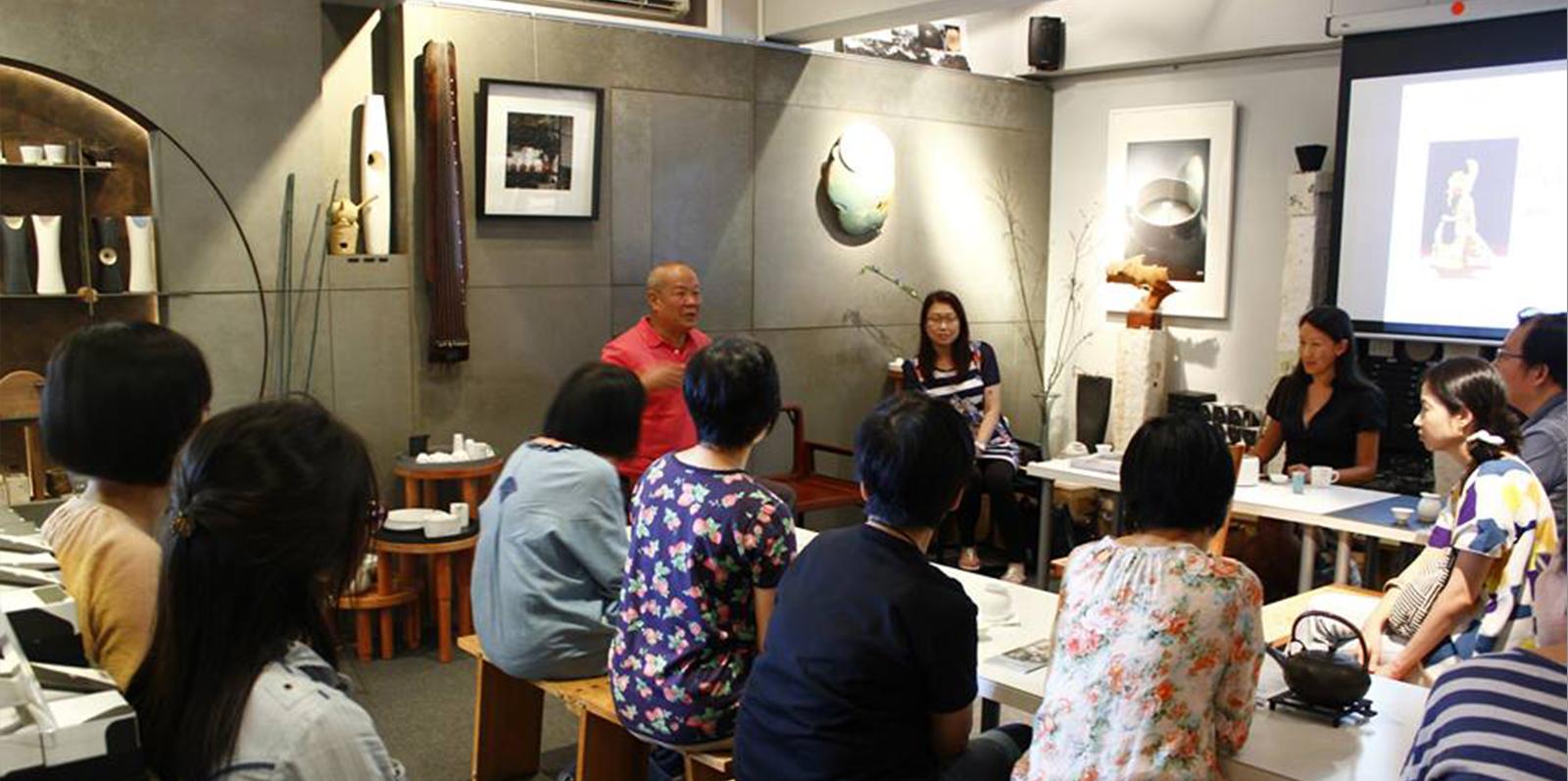 「木+木生活館」榮幸邀得國寶級崑曲大師侯少奎先生光臨分享。